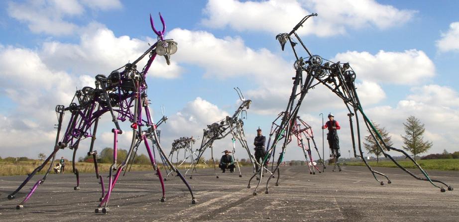 Fool Pool - The Herd of Mechanical Creatures